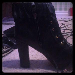 Booties and heels